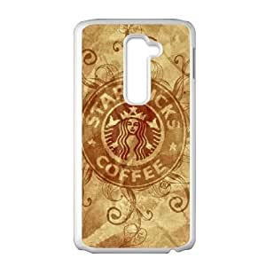 Printed Cover Protector Yxckj Starbucks For LG G2 Cell Phone Case Unique Design Cases