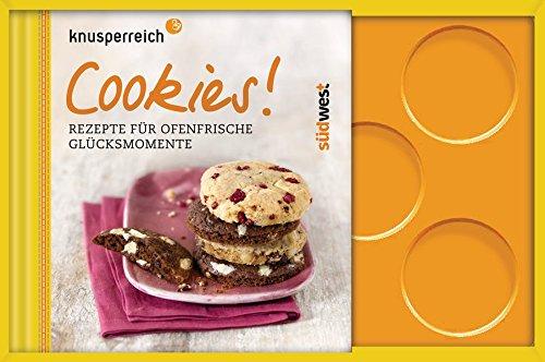 Cookies!: Rezepte für ofenfrische Glücksmomente. Buch mit Backform für 8 Cookies