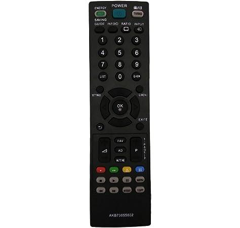 ALLIMITY AKB73655802 Mando a Distancia reemplazado por LG TV 19LS3500 19LS3500-ZA 22LS3500 26LS3500 32CS460 32LS3500 32LS5600 37LS5600 42LS3450 42LS5600 42LS5600-ZC 42PA4500 42PA4500-ZF 47LS5600: Amazon.es: Electrónica