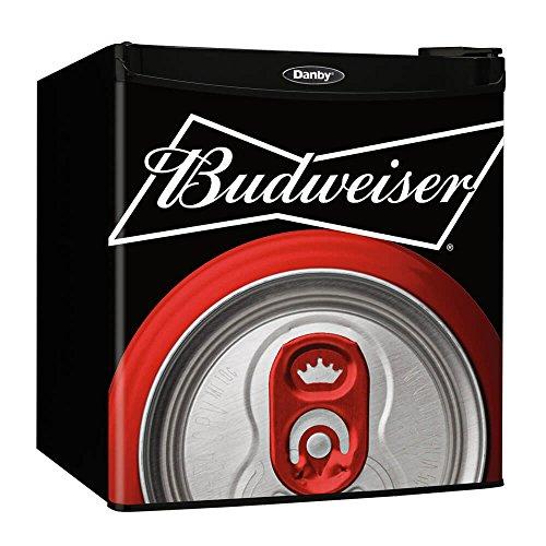 Danby Budweiser Beer Compact Refrigerator, Mini Fridge | Ope