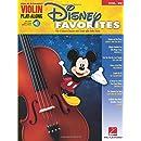 Disney Favorites - Violin Play-Along Volume 29 (Bk/Online Audio) (Hal Leonard Violin Play-Along)