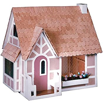 Amazon Com Greenleaf Sugar Plum Dollhouse Kit 1 Inch