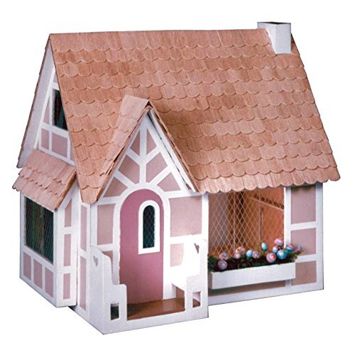 Sugar Plum Cottage - Greenleaf Sugar Plum Dollhouse Kit - 1 Inch Scale