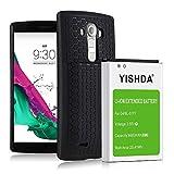 YISHDA Battery for LG G4, 6600mAh Replacement LG G4