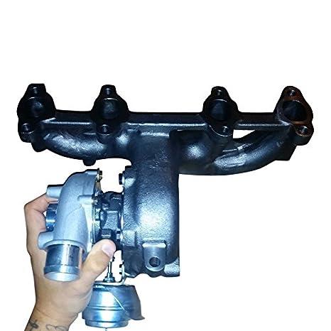 xs-power VW MK4 B5/C5 Audi 1.9t Diesel K04 GT1749 V Turbo cargador + colector + wastegate: Amazon.es: Coche y moto
