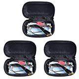 3 PRS Southern Seas Mens Womens Folding Reading & Travel +5.00 Glasses w Case 16 Strengths Available by Southern Seas