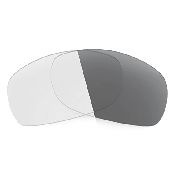fd97a832a2767 Revant Replacement Lenses for Oakley Sideways Elite Adapt Grey  Photochromic  Amazon.co.uk  Clothing