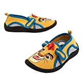 Disney Store Boys Kion - Lion Guard - Swim Shoes, Yellow/Blue, Size 8