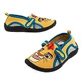 Disney Store Boys Kion - Lion Guard - Swim Shoes, Yellow/Blue, Size 8