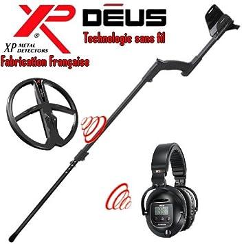 Metal Detectors Xp-Detector De metales Deus Light4 Tecnología inalámbrica-Auriculares De diadema inalámbricos