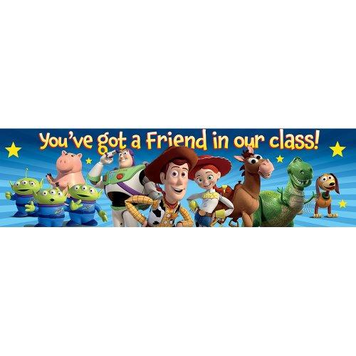 Eureka Toy Story Classroom Banner, You've Got A Friend, 12 x 45