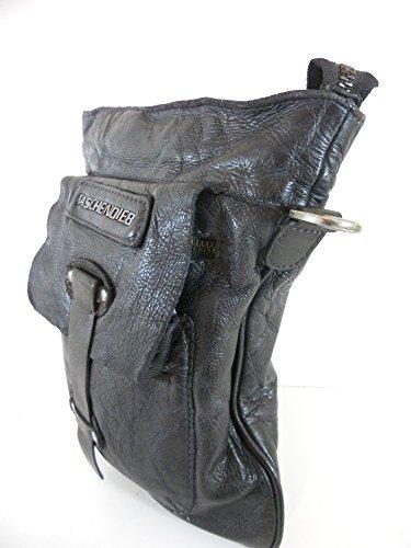De Bolsa Negro Viena Hombro Pickpocket 01qwZZ5A