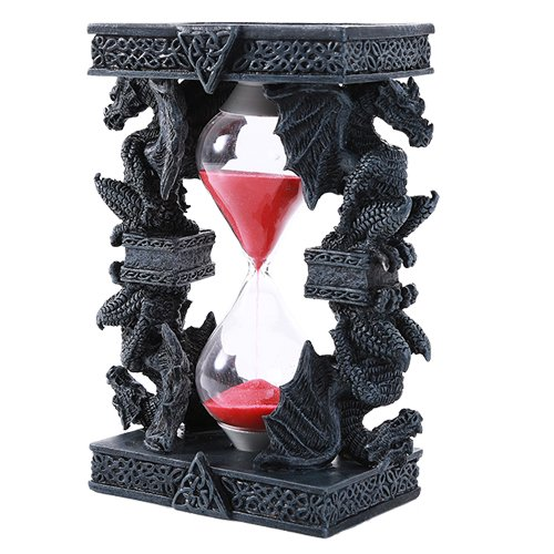 (Pacific Giftware Mythical Fantasy Guardian Stone Dragon Sandtimer Hourglass)