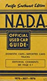 NADA Used Car Guide - Pacific Southwest - July, 1976