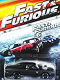 HOT WHEELS 2015 FAST AND FURIOUS RELEASE EXCLUSIVE BLACK 70 DODGE CHARGER R/T #3/8 DIE-CAST