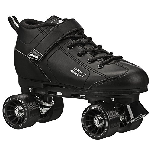 GTX-500 Roller Skates - Newly Revised Model (Black, Mens 9/Ladies - Sizes Male Model