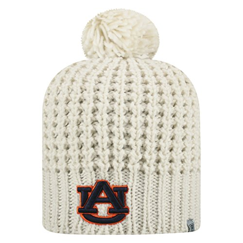(Top of the World Auburn Tigers Official NCAA Uncuffed Knit Slouch 1 Beanie Hat 476513 )