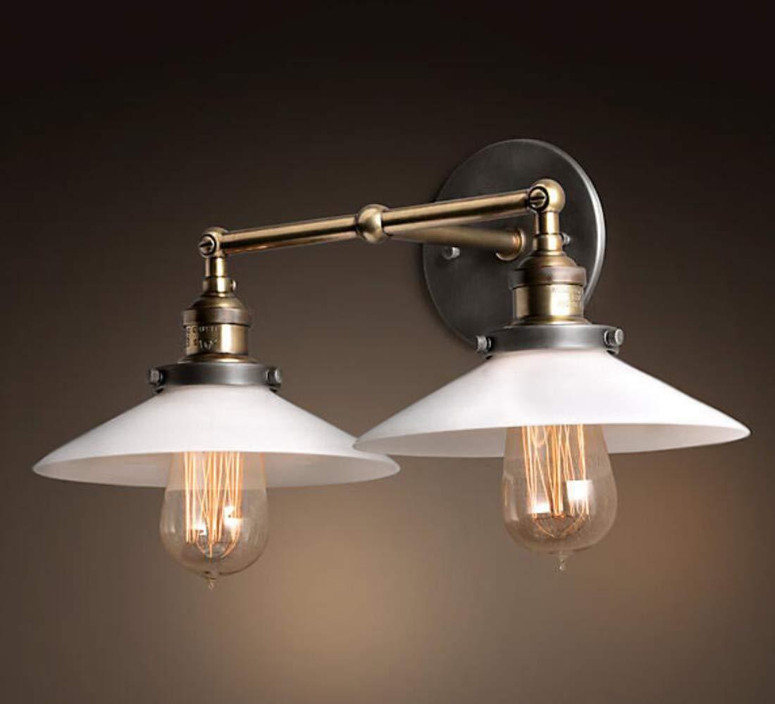 Amazon.com: Pantalla de lámpara industrial vintage KIVEN ...