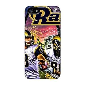 Iphone 5/5s USt15156ense Custom HD St. Louis Rams Image Protector Hard Phone Cases -IanJoeyPatricia