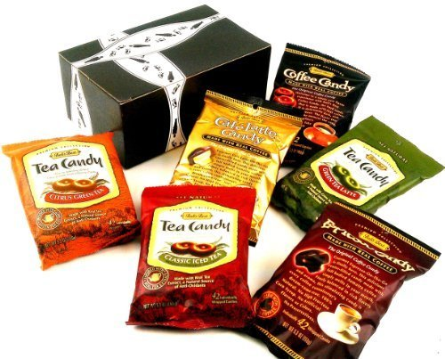 Bali's Best Hard Candy Variety Set, 5.3 oz Bags in a Gift Box (Pack of 6)