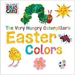 graphic about The Very Hungry Caterpillar Printable Book named : The Unbelievably Hungry Caterpillars Easter Hues