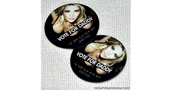 Amazon.com: VOTE FOR DADDY! - 2 Pins! - Donald Trump for President 2016: Health & Personal Care