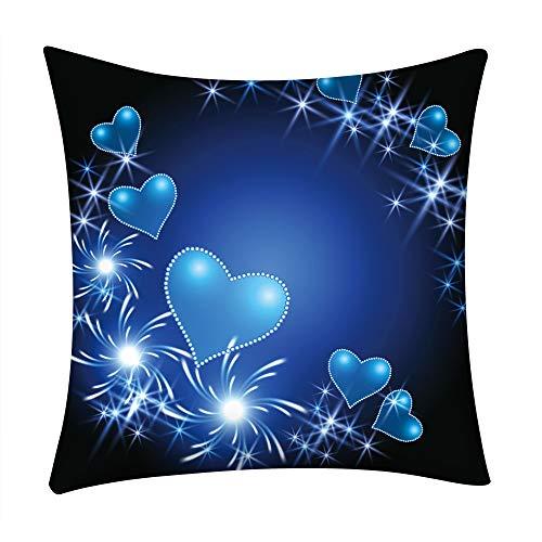 Littay Print Pillow Case Polyester Sofa Car Cushion Cover Home Decor -