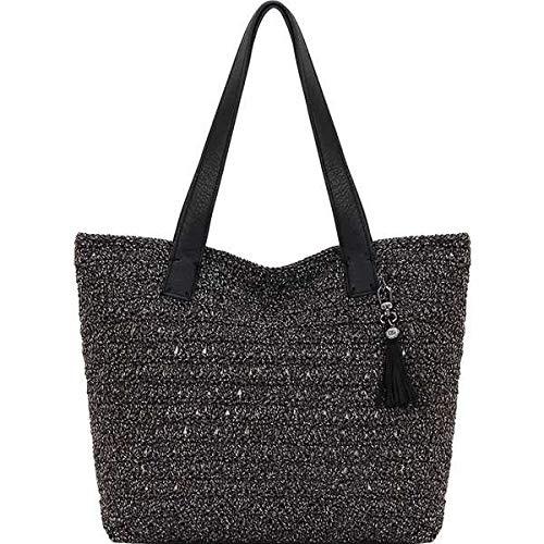 [ザサック] レディース ハンドバッグ Fairmont Crochet Large Tote [並行輸入品] B07GPV7R48  One-Size