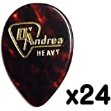 D'Andrea/ダンドレア RG358 .96 (Heavy) セルロース ギターピック24枚セット