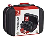 Cheap NINTENDO SWITCH DELUXE SYSTEM CASE; SECURELY HOLDS COMPLETE NINTENDO SWITCH SYSTEM INCLUDING: CHARGING DOCK, AC ADAPTER, HDMI CORD, TWO JOY-CONS, AND AN EXTRA SET OF JOY-CONS OR SWITCH PRO CONTROLLER
