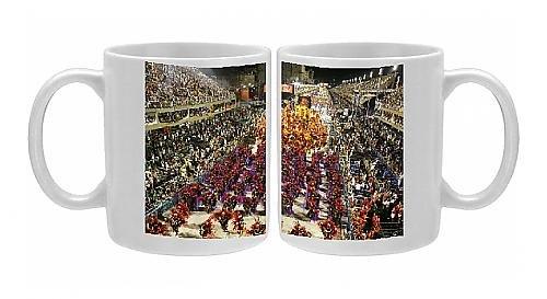 Photo Mug of Carnival parade at the Sambodrome, Rio de Janeiro, Brazil, South America (2)