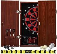 Viper Neptune Electronic Dartboard, Classic Cabinet Door Style, Huge Dart Catch Area For Missed Darts, Target