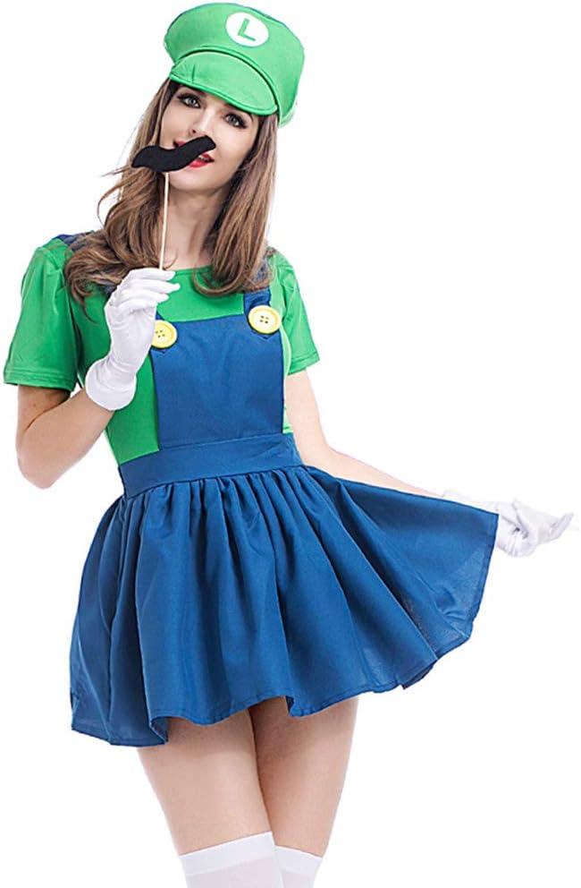 YXRL Disfraz De Halloween para Padres E Hijos Unisex Super Mario ...
