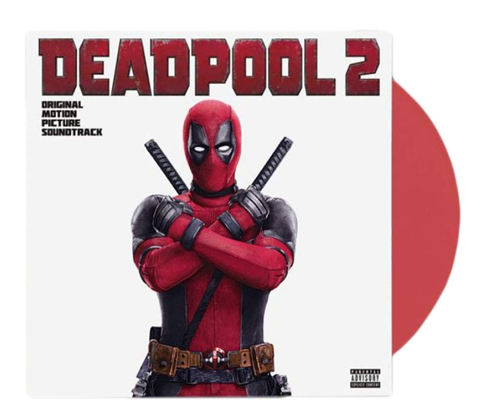 Various Artists - Deadpool 2 Original Motion Picture Soundtrack Limited LP Exclusive Red vinyl [VG+/NM-Condition] by Columbia Records