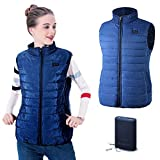Fovolat - Women's Battery Heated Vest - USB Charging - Electric Thermal Vest