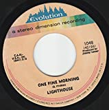45vinylrecord One Fine Morning/Little Kind Words (7