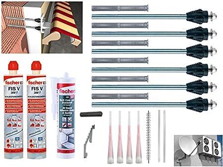 Pêcheurs Thermax Kit 2x16//170 m12 Haute Performance Mortier FIS V 300 T