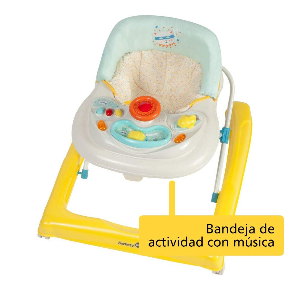 Safety 1st Ludo 2757949001 Andador para bebé, color gris ...