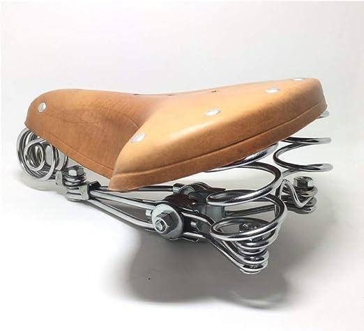 HWGQL Sillín de Bicicleta Asiento de Bicicleta Estilo clásico ...
