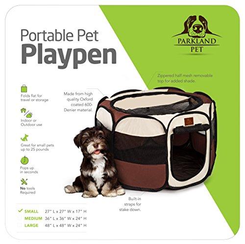 Parkland-Pet-Portable-Foldable-Playpen-for-Dogs