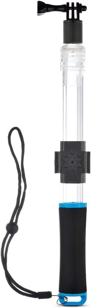 Bluetooth remote control tripod selfie stick Transparent Extendable Self-portrait Handheld Telescopic Monopod Holder for GoPro NEW HERO //HERO6 55cm //3 //2 //1 Ora 5 //5 Session //4 //3 Full Length Max