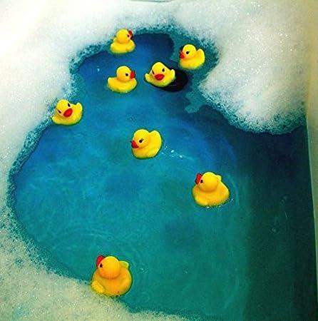 20x Milopon Gummiente Quietsche Ente gelb Quietscheente Badeente Bade Ente Enten Badeenten Gummienten f/ür Baby Dusche Spielzeug 3.8*4*3.5cm