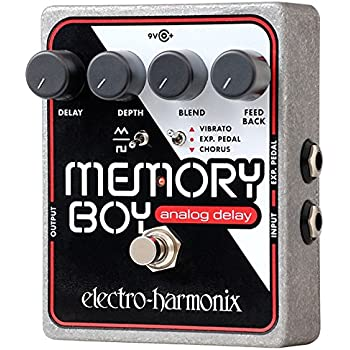 electro harmonix deluxe memory man analogue delay pedal xo musical instruments. Black Bedroom Furniture Sets. Home Design Ideas