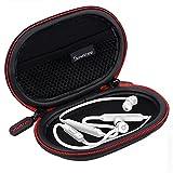 Smatree Headphone Hard Case Compatitble BeatsX, Powerbeats2, Powerbeats3 Earphones, Jaybird X3 Bluetooth Sports Headphones(Black)