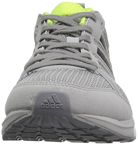 Adidas Mens Adizero Tempo 9 M Scarpa Da Corsa Grigio / Nero / Giallo Solare