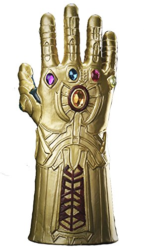 Yacn thanos gauntlet for cosplay,Marvel Heroes Infinity Gauntlet men game (glove) Mens Gauntlet