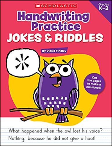 Handwriting Practice: Jokes & Riddles: Violet Findley ...