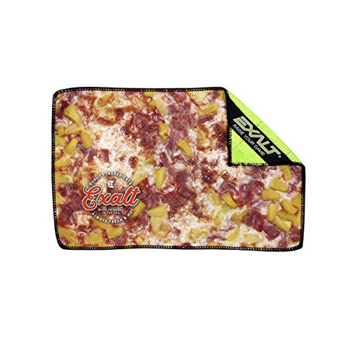 (Exalt Paintball Microfiber Goggle Cloth - Player Size - Hawaiian Pizza )