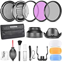 Neewer 67MM Professional Accessory Kit for CANON Rebel T5i T4i T2i, EOS 700D 650D 550D 70D 60D 7D 6D DSLR Cameras with 18-135MM EF-S IS STM Zoom Lens