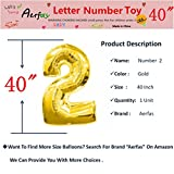 aiParty 40 inch Gold Number